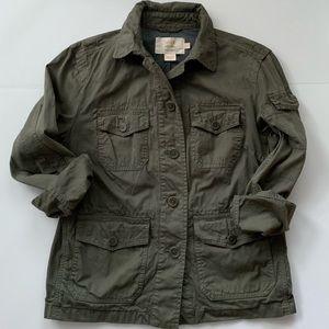 J. Crew Classic Twill Chino Utility Jacket